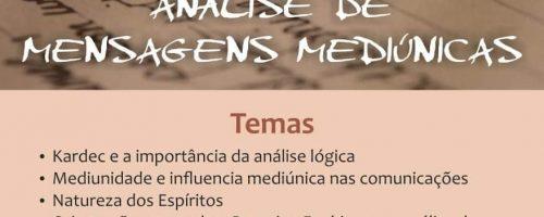 Seminário – Análise das Mensagens Mediúnicas