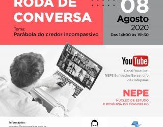 Roda de Conversa – 08/08/2020